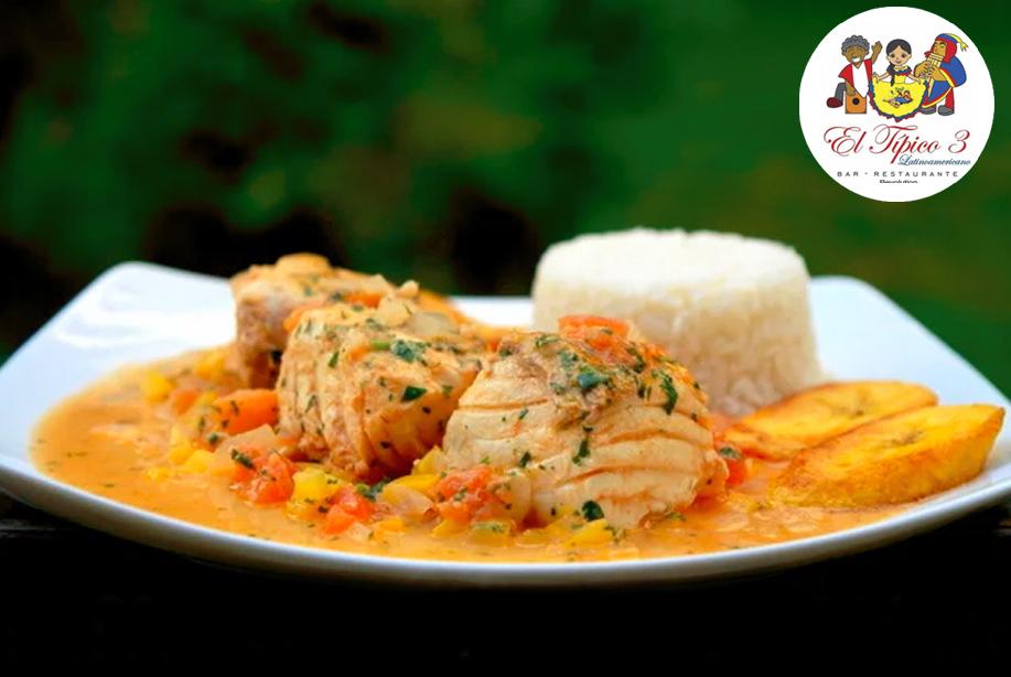 1 arroz con camaron y encocado de pescado